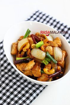 Spicy Cashew Chicken  | ramalaysia.com