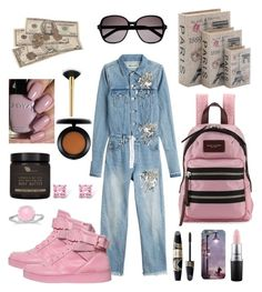 """""""Things to Do 🤓"""" by breeyvonne ❤ liked on Polyvore featuring Home Decorators Collection, Marc Jacobs, Off-White, Moschino, MAC Cosmetics, Yves Saint Laurent, AMBRE, Max Factor, tarte and BillyTheTree"""