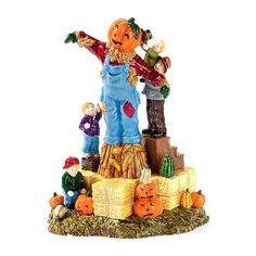 Building The Scarecrow - The Original Snow Village HALLOWEEN (Department 56)