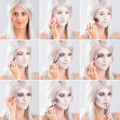 Halloween Makeup 101: How to Become a Gorgeous Ghost | Brit + Co