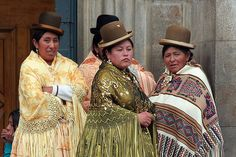 There's something about...Cholitas + Bowler Hats. — ANGELA RITCHIE'S ACE CAMPS
