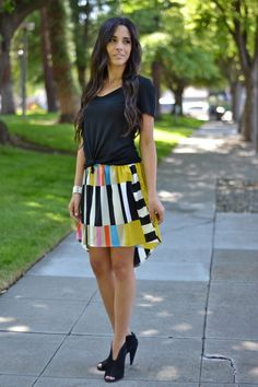 Cute Multi Colored Skirt