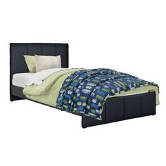 CorLiving Fairfield Bonded Leather Twin/ Single Bed (