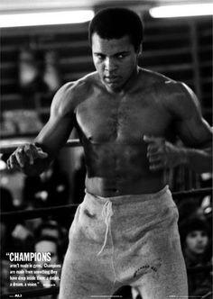 Champion Muhammad ALI