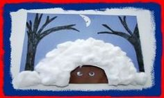Winter Hibernating Bear Craft and WInter Song for Kids! Kindergarten Crafts, Daycare Crafts, Preschool Crafts, Preschool Ideas, Kid Crafts, Craft Ideas, Winter Crafts For Kids, Winter Kids, Winter Christmas