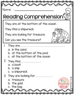 Free Reading Comprehension is suitable for Kindergarten students or beginning readers. There are 15 color and 15 black & white pages of reading comprehension worksheets. Each page contains 3 to 4 sentences passage, a related picture, and 3 multiple choice questions. Preschool   Preschool Worksheets   Kindergarten   Kindergarten Worksheets   First Grade   First Grade Worksheets   Reading  Reading Comprehension   Free Reading Comprehension   Kindergarten Reading Comprehension