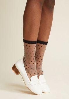 Dot Me Where You Want Me Socks - Size OS