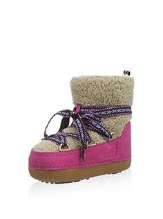 Ikkii Boot Kids Curly (pink)