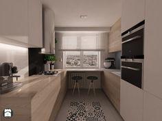 U Shaped Kitchen Interior, Modern Kitchen Interiors, Kitchen Room Design, Kitchen Dinning, Modern Kitchen Design, Home Decor Kitchen, Kitchen Furniture, New Kitchen, Luxury Kitchens