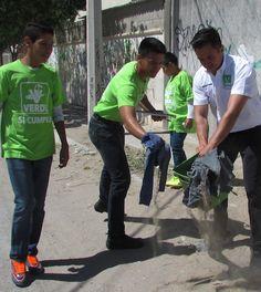 Vicente Garibay, Realizó de Limpieza de Calles del Distrito 09