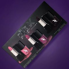 MARK YOUR CALENDARS!  Our collab with @formulaXnail is coming!  The mini duo set and 6pc set will be available on 11/25 and the full size nail polish shades will be available TOMORROW on sephora.com!  Each nail polish was created to perfectly match some of our most beloved Studded Kiss lipsticks!  #KVDvsFormulaX by katvondbeauty