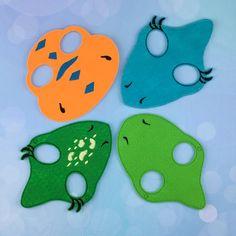 Dinosaurio amigo de máscaras  infantil pretende máscaras