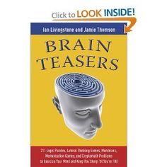 Brain Teasers byLivingstone: Livingstone: Amazon.com: Books