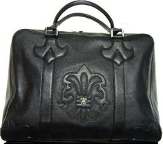 Valuable Chrome Hearts Handbag Black Cm 515 New | Chrome Hearts Watch Bracelet