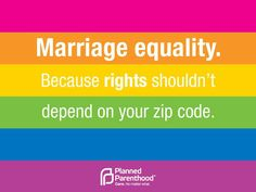 Rights shouldn't depend on your zip code.