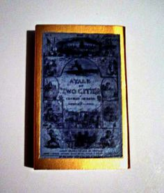 A Tale of Two Cities - Book Cover Literary Matchbook