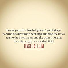 The guy just returned a kickoff. #americasbrand www.baseballism.com
