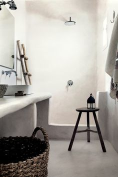 ATELIER RUE VERTE le blog: Hôtel de luxe bohème : le San Georgio à Mykonos