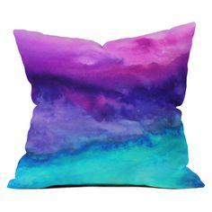 Jacqueline Maldonado The Sound Throw Pillow from Deny Designs. Saved to DENY Designs Throw Pillows. Modern Throw Pillows, Outdoor Throw Pillows, Accent Pillows, Decorative Throw Pillows, Floor Pillows, Handmade Pillows, Textiles, Fleece Throw, Tye Dye