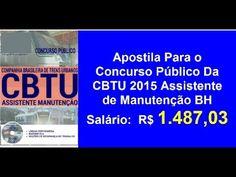 Apostila Edital Concurso Público Assistente De Manutenção |CBTU 2016 BH| | Afiliado Digital Online