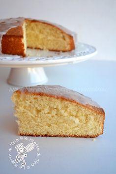 Torta al limone sofficissima giallo zafferano