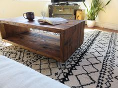 Hey, I found this really awesome Etsy listing at https://www.etsy.com/listing/227401279/reclaimed-wood-coffee-table