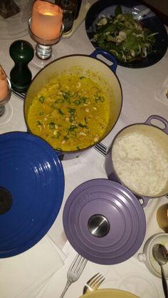 mild chicken korma & jasmin rice Korma, Prince Albert, Curry, Rice, Chicken, Ethnic Recipes, Food, Curries, Essen