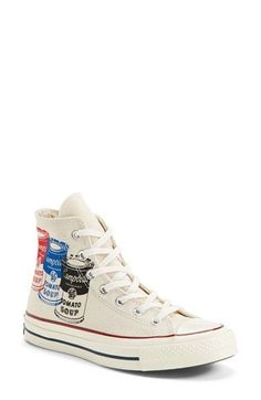 Converse+Chuck+Taylor®+All+Star®+'70+Andy+Warhol+Collection+High+Top+Sneaker+(Women)+available+at+#Nordstrom