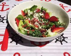 Choices Coach: Strawberry & Goat Cheese Salad