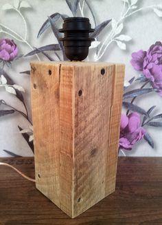 lampenvoet steigerhout | Studio Vivre | Online bestellen