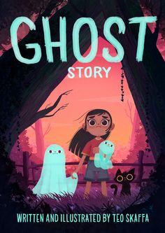 ArtStation - 👻 ɢʜᴏꜱᴛ ꜱᴛᴏʀʏ 👻, Teo Skaffa Ghost Stories, Halloween Art, Facebook Sign Up, Writing, Illustration, Artwork, Movie Posters, Books, Instagram