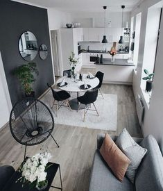 Beautiful Small Living Rooms That Work. Check out these small living room id. Beautiful Small Living Rooms That Work. Check out these small living room ideas and design schem Small Living Room Decor, Apartment Interior, Living Room Decor Apartment, Small Apartment Living, Open Living Room Design, Small Apartment Living Room, House Interior, Living Decor, Home And Living