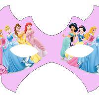 Disney Princess Free Printable Mask.