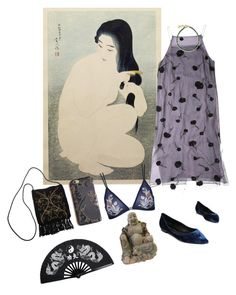 """""""asiatic"""" by dreamermuser ❤ liked on Polyvore featuring art"""