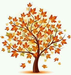 realistic fall tree drawing google search tree silhouettes
