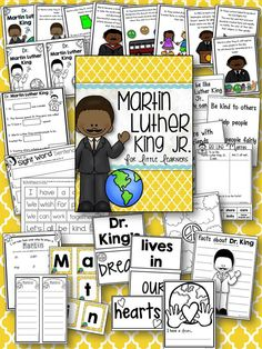 MLK Jr. for Little Learners! Lots of fun and interactive ways to teach little ones about the importance of peace and acceptance. :) $