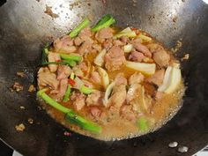 Bubbles n Squeaks: Luke Nguyen's Lemongrass Chilli Chicken - Ga Xao Xa Ot