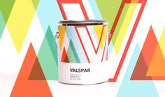 Valspar Packaging on Behance Box Packaging, Packaging Design, Valspar, Diy Tools, Packing, Letters, Projects, Behance, Student