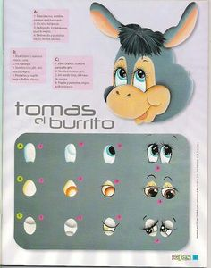 Crafts Magazines Free: Learn to paint eyes crafts One Stroke Painting, Painting Tips, Fabric Painting, Painting & Drawing, Doll Eyes, Doll Face, Poney Crochet, Rock Crafts, Arts And Crafts