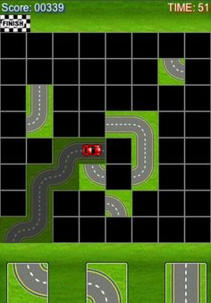 Connect Roads ($0.00 on 3/14/13) Drive the car safely to its destination to upgrade to the next level. Tap the road pieces on the grid to build a smooth and correct path.