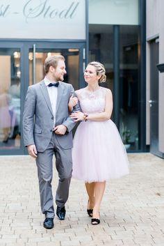 #rosequartz #serenity Farbtrends 2016: Heiraten in Rosé und Grau | Hochzeitsblog - The Little Wedding Corner