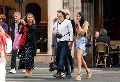Nina Dobrev and Ian Somerhalder Photo - Ian Somerhalder and Nina Dobrev in Paris