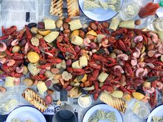 Creole Crawfish and Shrimp Boil recipe from Smollett Eats via Food Network