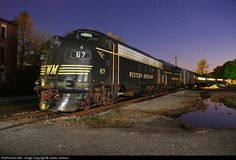 RailPictures.Net Photo: WVC 67 West Virginia Central Railroad EMD F7(A) at Belington, West Virginia by James Jackson