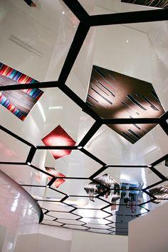 Ceiling of Milan Design Week 2011