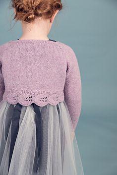 Ravelry: #løvlibolerojakke jente pattern by Strikkelisa