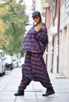 Red Shepherd's Plaid Cotton Shirt and Pants / by SSDfashion