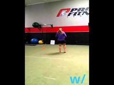 Gym time w/JohnWalker & Tennis Player, Alexa Glatch