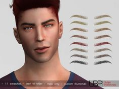 sims 4 cc // custom content male eyebrows // the sims resource // Urielbeaupre's. - sims 4 cc // custom content male eyebrows // the sims resource // Urielbeaupre's Dylan guy men' - Sims 4 Hair Male, Sims 4 Male Clothes, Sims 4 Clothing, Sims 4 Cc Eyes, Sims 4 Cc Skin, Sims Cc, Los Sims 4 Mods, Sims 4 Game Mods, Boys Eyebrows