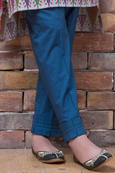 Off White Khadi Dhoti Pants Buy Orange Cotton Gota Kurti Sleeves Design, Kurta Neck Design, Sleeves Designs For Dresses, Salwar Designs, Kurta Designs Women, Designer Kurtis, Stylish Dress Designs, Stylish Dresses, Costumes Punjabi